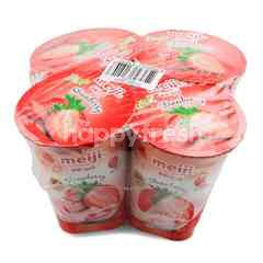 Meiji Strawberry Yogurt
