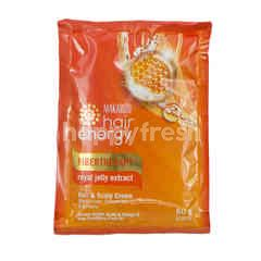 Makarizo Creambath Hair Energy Anti Penuaan Ekstrak Royal Jelly