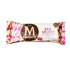 วอลล์  แม็กนั่ม ไอศกรีมดัดแปรงรสช็อกโกแลตผสมครีมชีสเคลือบไวท์ช็อกโกแลตกลิ่นครีมชีส
