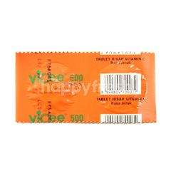 Vicee 500 Lozenges Vitamin C Orange Flavor