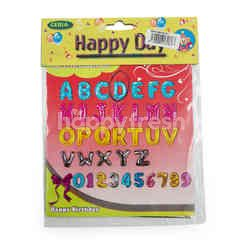 Ceria Happy Day D Shaped Letter Balloon
