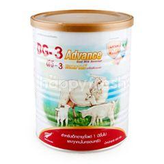 ดีจี 3 นมผงเด็กจากนมแพะ สูตรแอดวานซ์