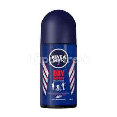 Nivea For Men Dry Impact Plus Roll On Deodorant
