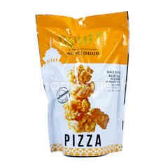 Ppuff! Mini Rice Crackers Pizza Flavor Gluten Free
