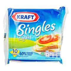 Kraft Sliced Cheddar Cheeses 40% Less Fat