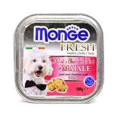 MONGE Pate And Chunkies With Pork Dog Food