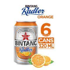 Bintang Radler Orange Canned Beer 6 Packs