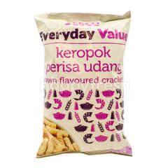 Tesco Everyday Value Prawn Flavoured Crackers