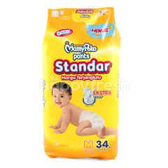 MamyPoko Standard Baby Pants Diaper M (34 pieces)