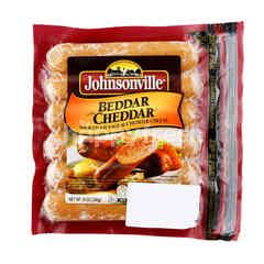 Johnsonville Beddar With Cheddar Smoked Pork Sausages