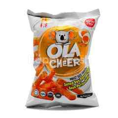 Ola Cheer Salted Egg Flavoured Wheat Rice Snack