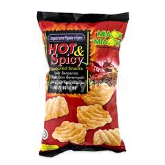 MIAOW MIAOW Hot & Spicy Flavoured Snacks
