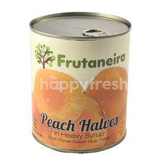Frutaneira Peach Halves in Heavy Syrup