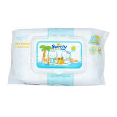 Sweety Natural Care Non Perfumed Baby Wipes Shea Butter
