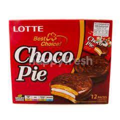 Lotte Choco Pie Original Flavour 28 g X 12 Pcs