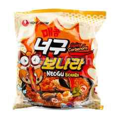 Nongshim Instant Ramen Spicy Carbonara Flavour