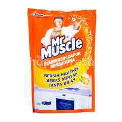 Mr. Muscle Lemon Fragrance Kitchen Cleaner Refill