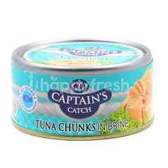 Captain's Catch Tuna Chunks In Brine