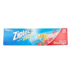 Ziploc Ziploc Double Zipper Bags 26.8 cm X 27.3 cm