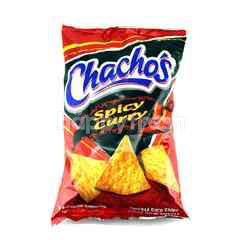 Twisties Chachos's Spicy Curry Corn Chips