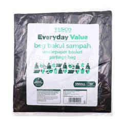 Tesco Everyday Value Wastepaper Basket Garbage Bag - Small) Size