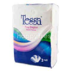 Tessa Towel Tissue (3 rolls)