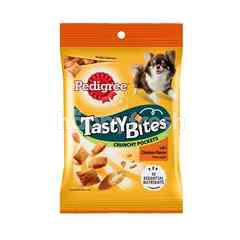 Pedigree Adult Dog Treats Tastybites Pockets Chicken 60G Dog Snack