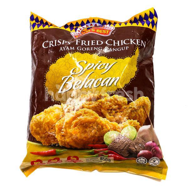 Farm's Best Crispy Fried Chicken - Spicy Belacan