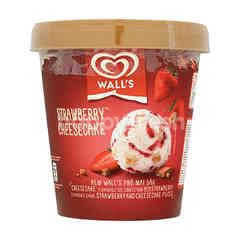 Wall's Strawberry Cheesecake Ice Cream