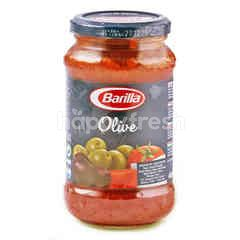 Barilla Saus Tomat Buah Zaitun Hijau dan Hitam