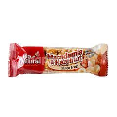 Go Natural Mixed Macadamia And Hazelnut Bar