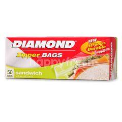 Diamond Zipper Bags