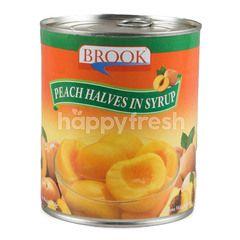 บรูก ลูกพีชในน้ำเชื่อม