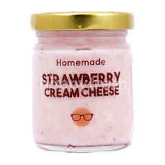 HOMEMADE Strawberry Cream Cheese