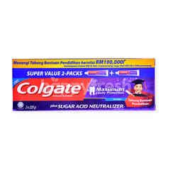 Colgate Plus Sugar Acid Neutralizer Anticavity Toothpaste