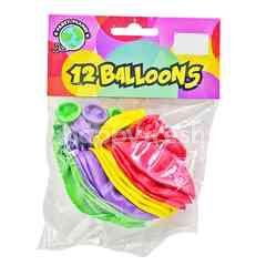 Party Planet Party Balloons (12 Pieces)