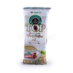 TOP Coffee Mild Taste Instant White Coffee (12 sachets)