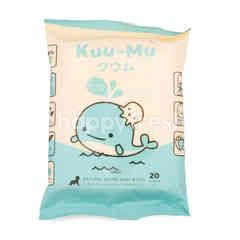 Kuu-Mu Natural Saline Baby Wipes