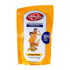 Lifebuoy Anti-Bacterial Body Wash Lemon Fresh Refill