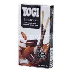 YOGI Chocolate With Almonds Cream Stick