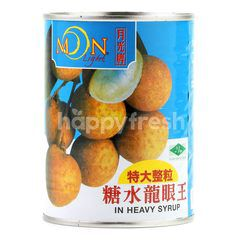 Moonlight Super King Size Whole Longans In Heavy Syrup
