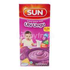 Sun Milk Cereal Pooridge Purple Yam