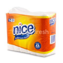 Nice Coreless Embossed Bathroom Tissue
