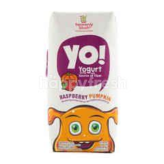 Heavenly Blush Yo! Raspberry and Pumpkin Yogurt Drink