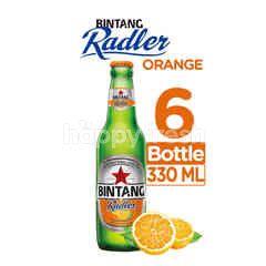 Bintang Radler Orange Bottled Beer 6 Packs