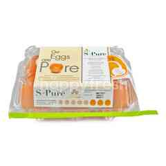 S-Pure Fresh Eggs 360 g (6 Pcs)