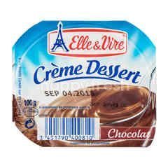 Elle & Vire Creme Dessert Chocolate Pudding