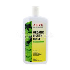 Alive Organic Peppermint Mouth Rinse
