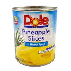 Dole Pineapple Slices In Heavy Syrup