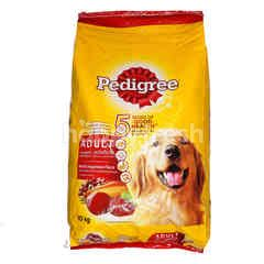 Pedigree Beef & Vegetables Flavored Adult Dog Food